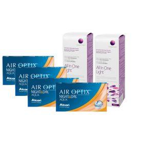 Air Optix Night & Day Aqua Avantaj Paket