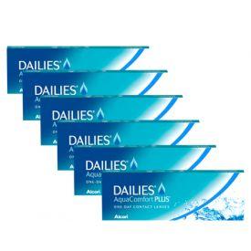 Dailies Aqua Comfort Plus 6 lı Avantaj Paket