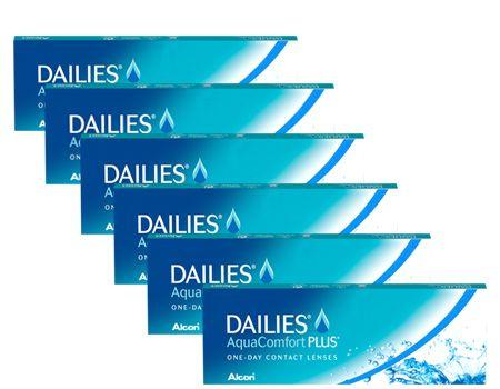 Dailies Aqua Comfort Plus 6lı Paket