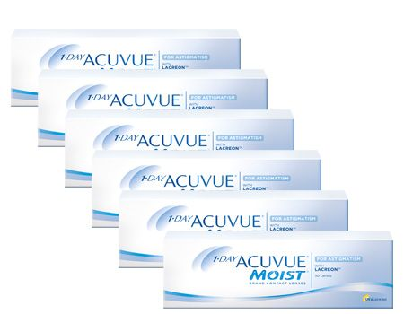 1 Day Acuvue Moist For Astigmatism 6 lı Avantaj Paket