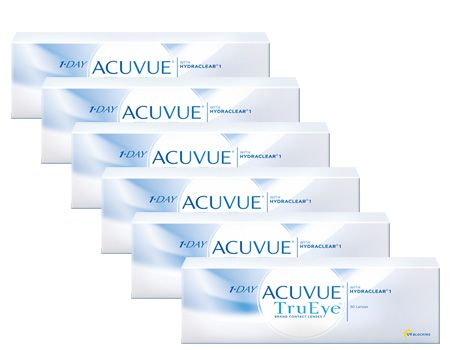 1 Day Acuvue Trueye 6 lı Avantaj Paket