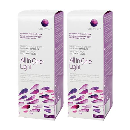 All in One Light 360 ml 2 li Avantaj Paket.....SKT 2020/06