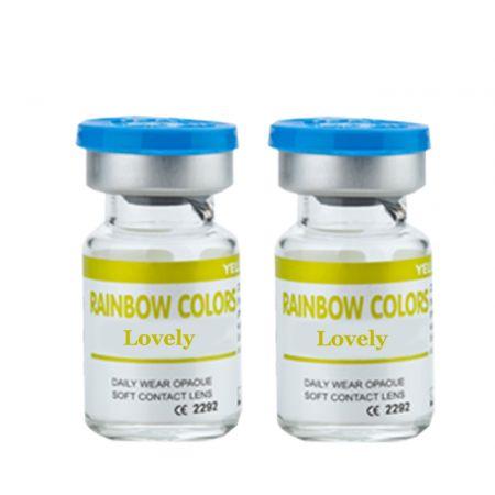 Rainbow Colors Lovely Yıllık (Haresiz)